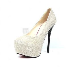Sparkling Glitter Women's Shoes Wedding Stiletto Heel  Pumps With Sequin    Women's Party Shoes - USD $27.99