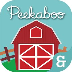 Peekaboo Barn -  Work with your child to learn the names of animals and hear the sounds they make. Younger children will love opening the barn doors to find a new animal animation, as they learn about cause and effect and become familiar with animal names and sounds. Older children will enjoy guessing animals by sound, then seeing the animal names, which helps develop early literacy skills. Available from iTunes for $1.99. 8/1/15