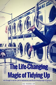 Does everything in your home spark joy? That's the basis of Marie Kondo's great book, The Life-Changing Magic of Tidying Up. Click through to read my take on how using her method will bring up any pattern you haven't yet dealt with - and helps you deal with it by taking action: http://soul-warriors.com/the-life-changing-magic-of-tidying-up/