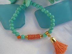 SALE BOHEMIAN CHARM Bracelet  Gypsy bracelet Ethnic by Nezihe1, $17.00
