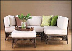 Rattan Sectional President's Rattan Sectional by Palecek 7592