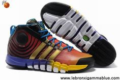 Buy Discount Rainbow Red Yellow Blue G22671 Adidas adiPower Howard 3 Shoes Shop