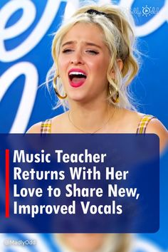 """Who could forget the high spirit music teacher Margie Mays from Delaware? She returns for a season eighteen American Idol audition boasting improved professionalism, personality and vocal ability. She opted for Adele's """"I Found A Boy,"""" surprising the judges who had keen words of advice. #MargieMays #AmericanIdol #Auditions #Adele #Singing"""