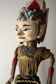 Wayang Golek puppet   Indonesia
