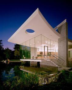 Lakeside Studio, uma casa moderna em meio a uma paisagem estonteante