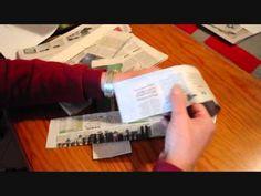 2. Las tiras de papel