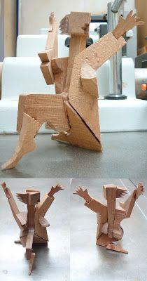 Fernan como escultor: Proyecto - Construcción de una figura de madera (sapeli)