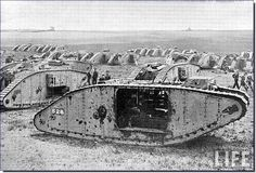 The British were the first to make and use tanks