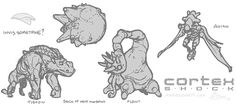 Cortex Shock Monster Concept Design