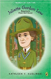Daisy Girl Scout Activities-Read this new children's biography of Juliette Gordon Low for Founder's Day.