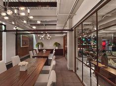 Modern office design, Neuehouse, New York by David Rockwell