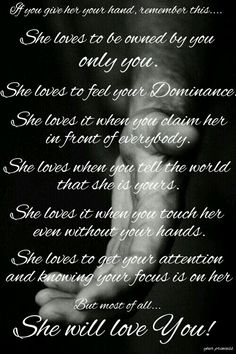 She does love you.....unconditionally until the end of time Daddy.