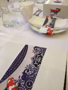 Mervyn Gers inspired table Decor - Detail