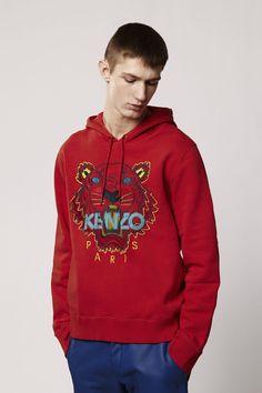 1f9b02d48 Kenzo Tiger Hoodie sweatshirt - Kenzo Sweatshirts & Sweaters Men - Kenzo  E-shop Pull