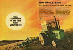 1971 John Deere 4320 Farm Tractor 2 Page Magazine Ad   eBay