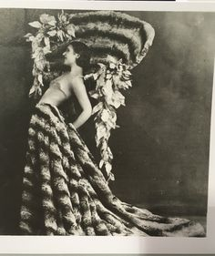 Inch Print (other products available) - A dancer of the Folies Bergere Cabaret in Paris wearing a full skirt in fur and a large hat. (Photo by General Photographic Agency/Getty Images) - Image supplied by Fine Art Storehouse - print made in the UK Fine Art Prints, Framed Prints, Canvas Prints, Burlesque Costumes, Cabaret, Poster Size Prints, Photo Wall Art, Dancer, Fur