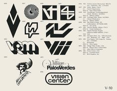 Eric Carl Collection of vintage logos from a edition of the book World of Logotypes jpg Logos Typography Letters, Typography Logo, Logo Branding, Branding Design, Lettering, Trademark Symbol, Logo Luxury, 80s Logo, Skateboard Logo