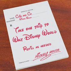 take one trip to Walt Disney World, refill as needed.....Mickey Mouse :o)