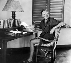 Ian Fleming wrote the James Bond books from his villa in Jamaica. He took the name James bond from the book Birds of the West Indies by James Bond. Casino Royale, Writers Desk, Writers Write, James Bond Books, Bond Series, Golden Eyes, Writers And Poets, Book Writer, Sean Connery