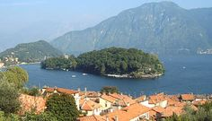 Isola Comacina, the only island on Lake Como.  And the best restaurant!