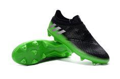 MEN アディダスメッシ 黒緑 アディダス 16+ メッシ ピュア アジリティFGサッカーウェア 17SS 2 Adidas Messi 16+ Pureagility FG アディダスメッシ