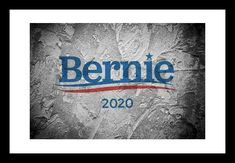 Senator BERNIE SANDERS 4x6 Print 2020 Campaign Feel the Bern Democratic Party   | eBay