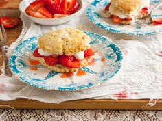 The History of Strawberry Shortcake (with recipe) from The History Kitchen