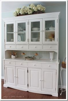 BEAUTIUL updating of a Colonial wood Buffet