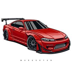 Autos Nissan, Nissan 350z, Nissan Silvia, Nissan Gtr Rocket Bunny, Car Photos, Car Pictures, Cool Car Drawings, Silvia S15, Jdm Wallpaper
