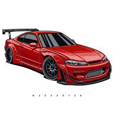 Nissan Silvia, Nissan Gtr Rocket Bunny, Cool Car Drawings, Silvia S15, Jdm Wallpaper, Pretty Cars, Mitsubishi Lancer Evolution, Jeep Cars, Nissan 350z