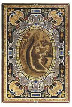 AN ITALIAN SPECIMEN MARBLE AND PIETRA DURA TABLE TOP -  PROBABLY ROME, 19TH/20TH CENTURY
