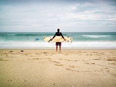 #Summer days at the beach, surfing. #LA