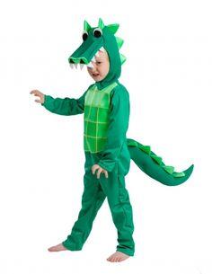 Disfraz de cocodrilo niño - Premium