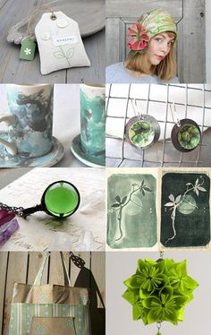 Green Tea by Danielle on Etsy--Pinned with TreasuryPin.com