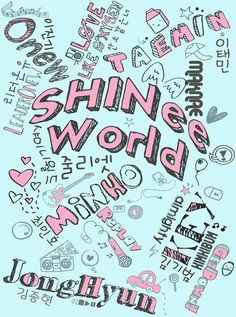 SHINee Shirt Design ... If I had enough money, I'd buy it!