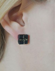 Cube earrings I