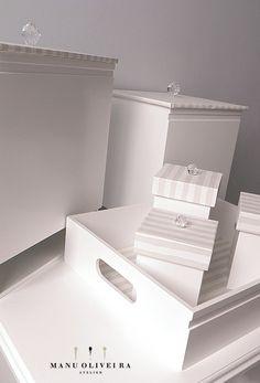 Kit de Higiene Exclusivo | Quarto do Davi: Quarto do Davi: https://ateliermanuoliveira.wordpress.com/2015/01/05/quarto-de-menina-romantico-compose/