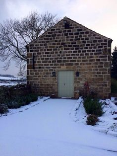 Snow at Chilli Barn Otley
