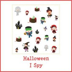 Halloween I Spy store product image