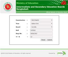 SSC Results 2015 Intermediate and Secondary Education Boards, Bangladesh S. exam result of Bangladesh will be published on May,