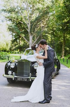 Wedding photography, Rolls Royce, Wedding, Lace dress