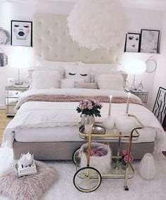 Simple bedroom ideas for girls girls bedroom decor ideas cozy home decorating ideas for girls bedrooms . simple bedroom ideas for girls Cute Bedroom Ideas, Cute Room Decor, Girl Bedroom Designs, Girls Bedroom, Teen Bedroom Colors, Simple Bedroom Design, Wall Decor, Wall Art, Home Decor Bedroom