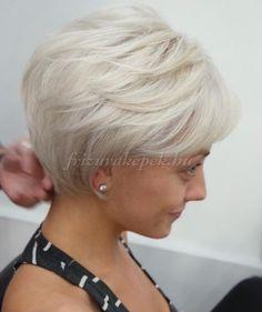 rövid frizurák 50 felett