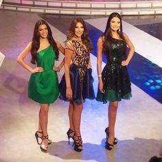 Tres de las Chicas que lograron entrar al Concurso del Miss Venezuela 2015..