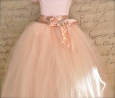 Pink Vintage Princess Flower Girl Tutu http://www.etsy.com/listing/92046198/vintage-princess-flower-girl-tutu-and