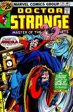 Doctor Strange #14 (1974 series) - cover by Gene Colan
