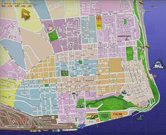 Mapa de Lourenço Marques (hoje Maputo)