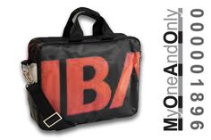 MyOneAndOnly DELOS 1896 Laptop bag made from reused banners. Each bag is unique and has a number for it. Eco Friendly Bags, Laptop Bag, Bag Making, Banners, Number, Unique, Accessories, Design, Banner