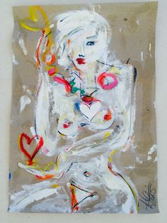 ART by kerstin leicher . www.kerstin-leicher.com Contemporary Art, Princess Zelda, Free, Painting, Fictional Characters, Painting Art, Paintings, Fantasy Characters, Painted Canvas