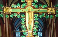 Münster Bad Doberan - Christusfigur am Lettneraltar (um 1360/70)